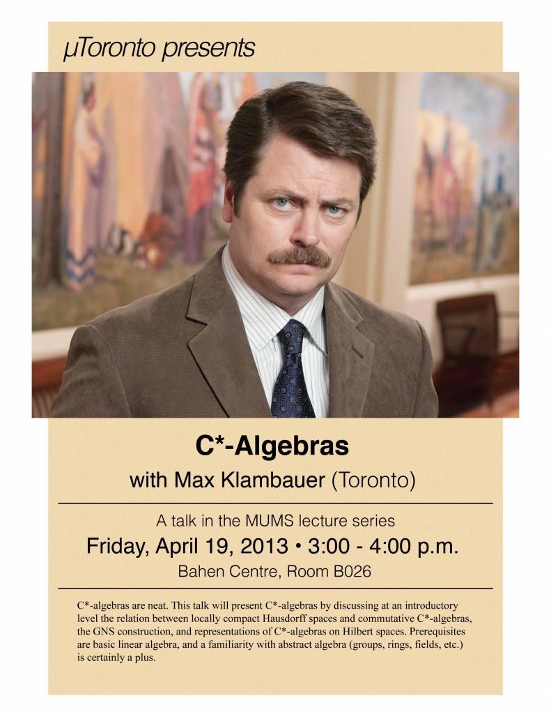 C* Algebras - Max Klambauer
